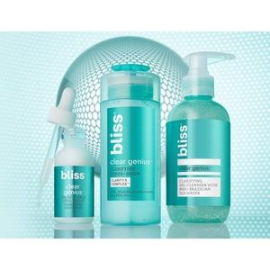 SOLD • Bliss Clear Genius Clarifying Collection